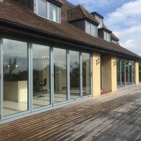 bifold door and window installation